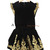 Elegant Embellish Gold Baroque Embroidery Velvet Mini Short Top & Skirt Set Suit | eBay