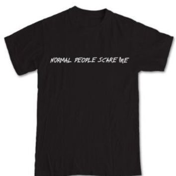 Normal People Scare Me 'American Horror Story' T-Shirt:Amazon:Clothing on Wanelo