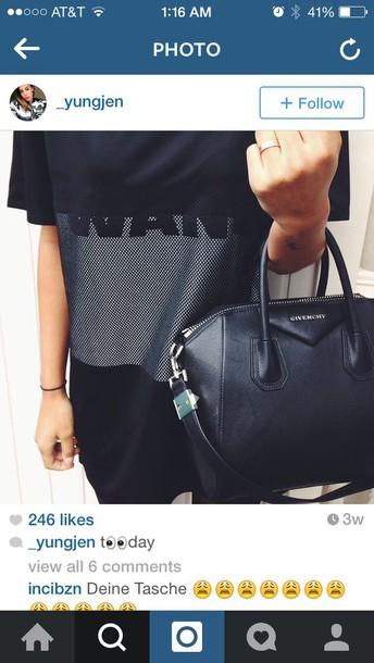 alexander wang h&m t-shirt instagram
