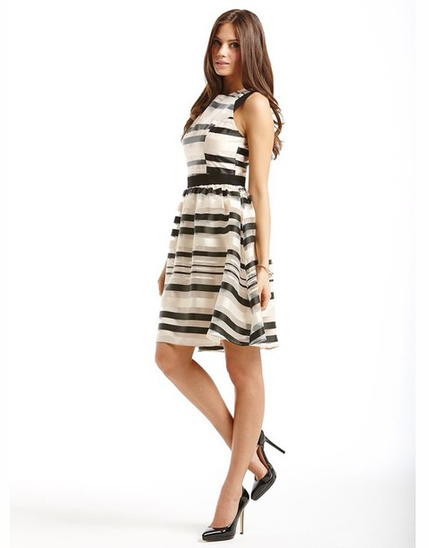 dress striped sit out dress