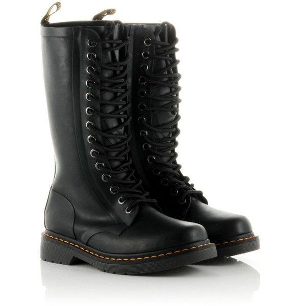 DR. MARTENS Drench Wellies - Polyvore