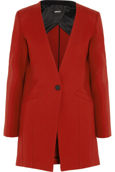 DKNY Wool-twill coat - 52% Off Now at THE OUTNET