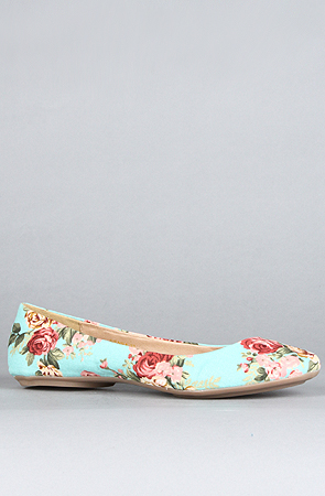*Sole Boutique The Sienna XXII Shoe in Turquoise -  Karmaloop.com
