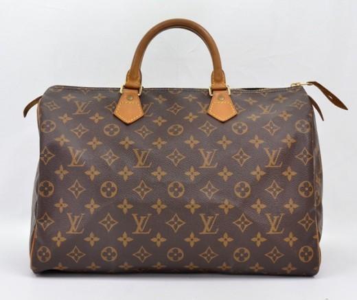Louis Vuitton Monogram Canvas Speedy 35 City Bag   Portero Luxury