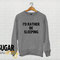 I'd rather be sleeping sweatshirt jumper sweater, tumblr sweatshirt, funny sweatshirt, slogan sweatshirt, tumblr sweatshirt