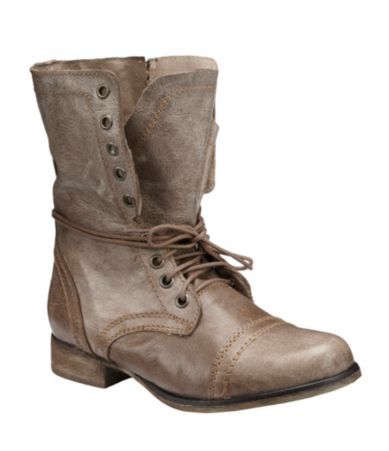 Steve Madden Troopa Military-Inspired Booties | Dillards.com