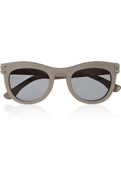 Roland Mouret Douglas D-frame sunglasses NET-A-PORTER.COM