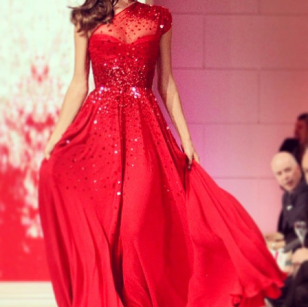 dress red dress sparkly dress sparkle elegant long red dress long dress