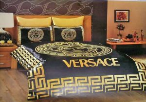 Versace Medusa Satin Cotton Sheet Set 6 pcs.
