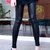 ROMWE | Fake Leather Skinny Black Pants, The Latest Street Fashion