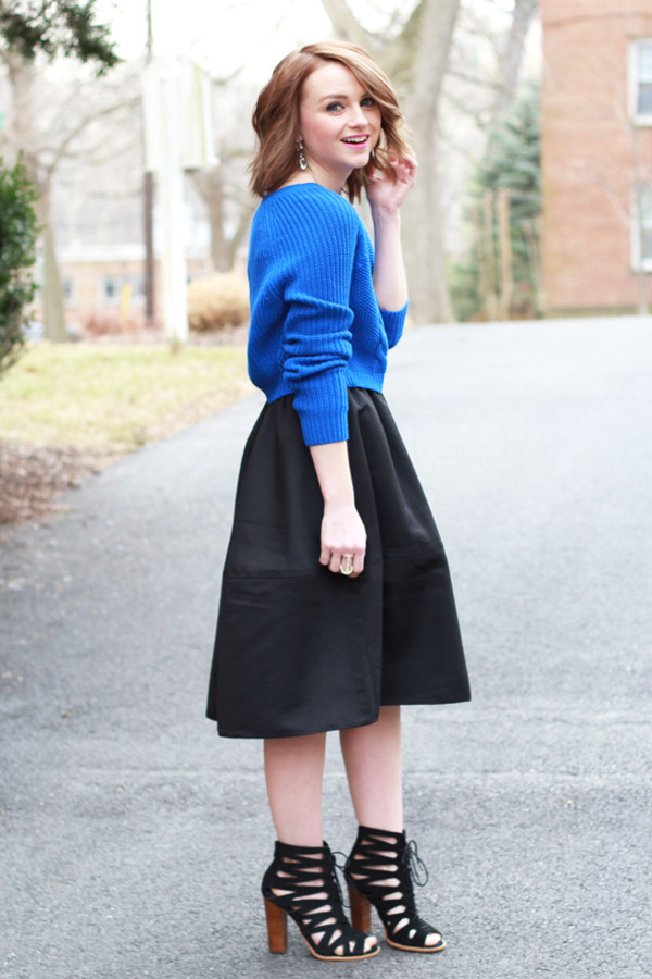 poor little it girl skirt sweater shoes jewels