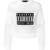 Semitransparentes Statement-Sweatshirt Multi von Alexander Wang bei UNGER