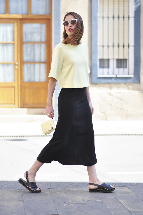 dansvogue top sunglasses skirt jewels