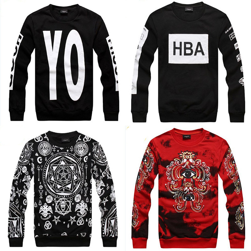new 2014 fashion HBA/PIF/KTZ Men women Autumn Cheap hip hop Lovers skate sweatshirts sportwear tops brand pullover hoody sweat-in Hoodies & Sweatshirts from Apparel & Accessories on Aliexpress.com
