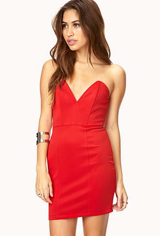 Bold Moves Bodycon Dress | FOREVER21 - 2000129497