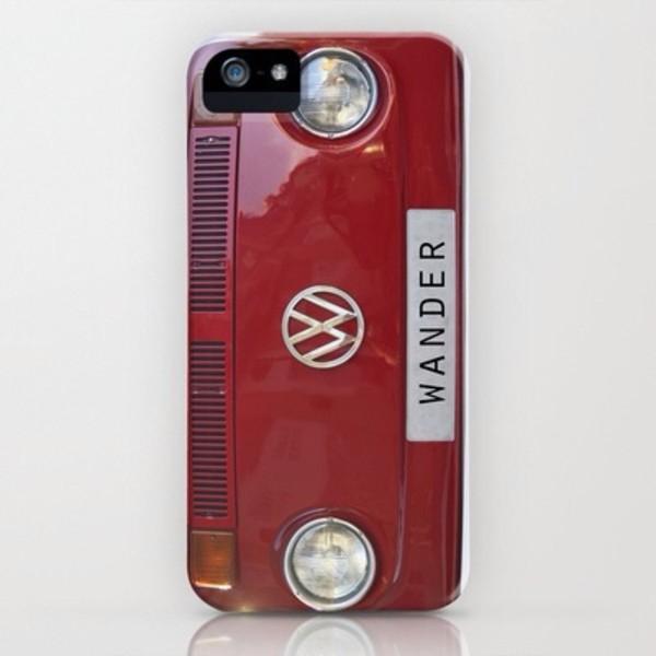 jewels volkswagen red iphone 5 case