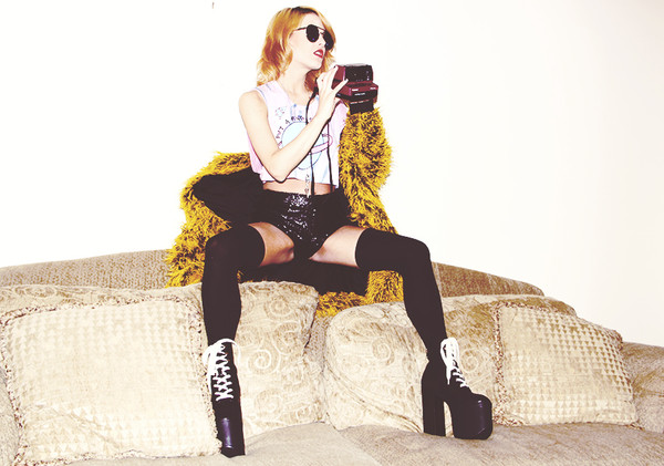 i hate blonde t-shirt shorts shoes coat