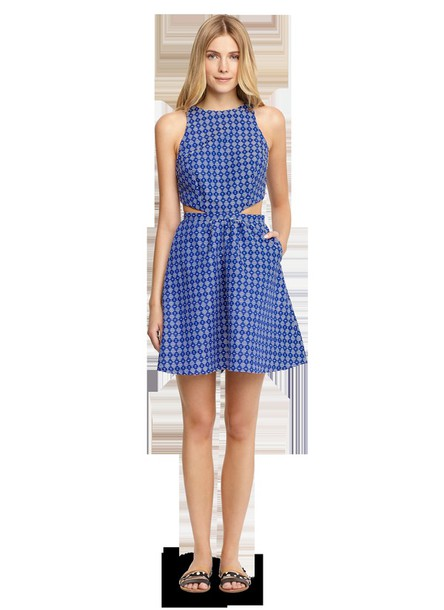 dress cut-out dress sundress cover up cover up