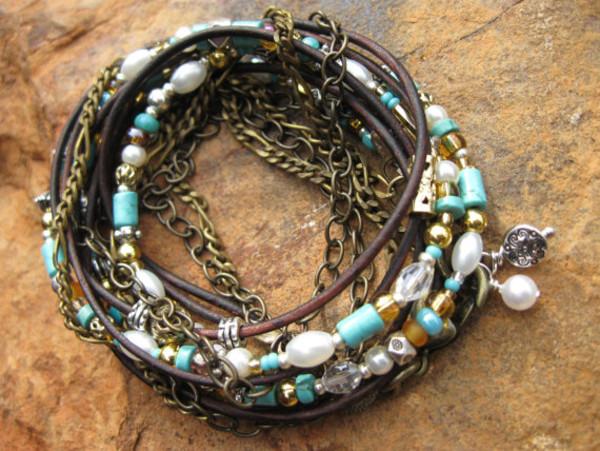 jewels boho leather wrap bracelets