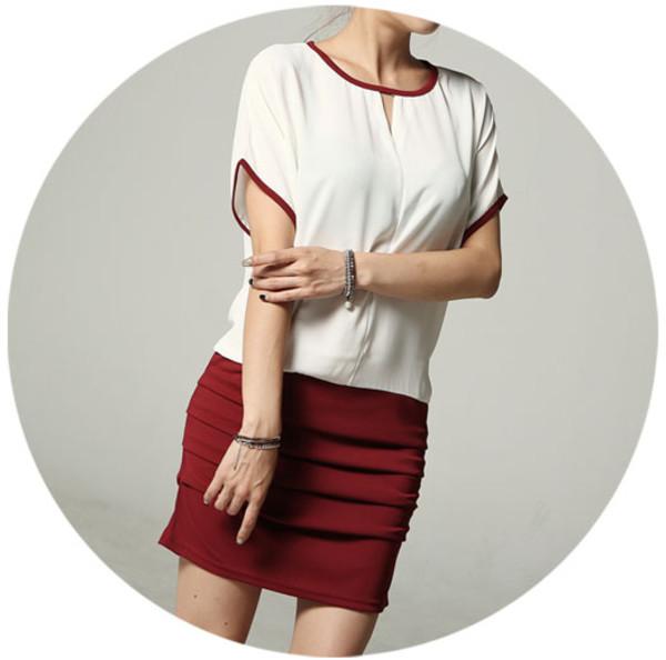 drees red dress