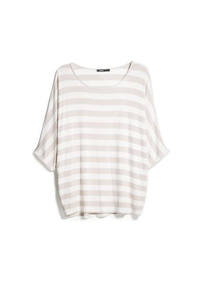 striped monochrome t-shirt