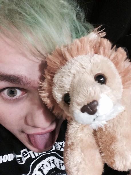hair accessory daniel lion doll stuffed animal soft