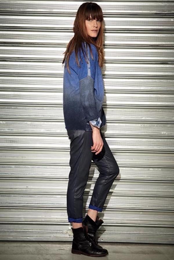 sweater berenice lookbook fashion jeans shirt