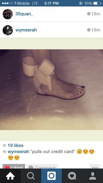 shoes sandals bow strap