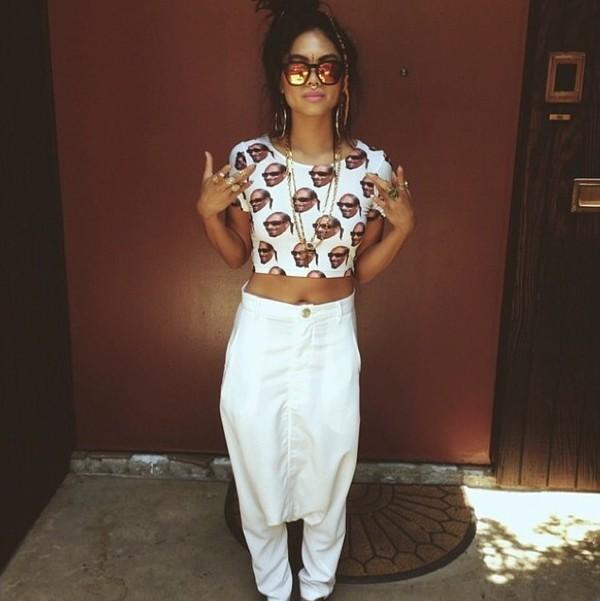shirt snoop dogg crop tops tumblr pants