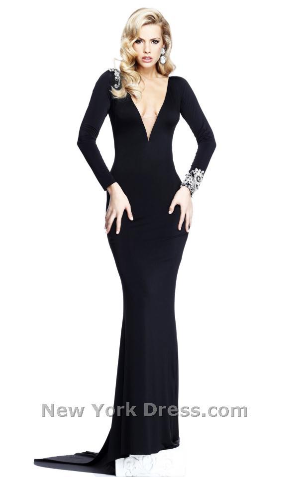 Tarik Ediz 92211 Dress - NewYorkDress.com