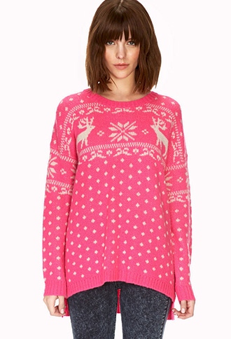 Reindeer Holiday Sweater | FOREVER21 - 2000090394