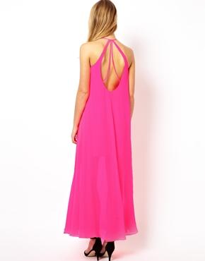 ASOS | ASOS Halter Maxi Dress at ASOS