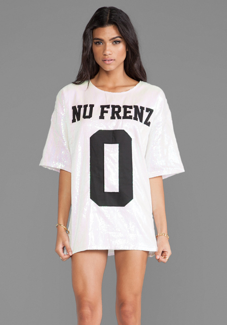 UNIF No Nu Frenz Dress in Sequins Multi - New