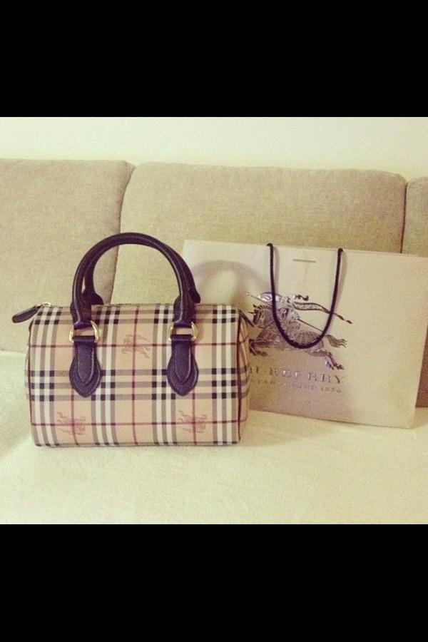 bag burberry bag fashion bags