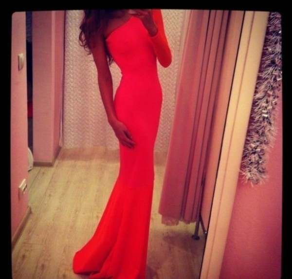 dress women clothes prom dress red dress