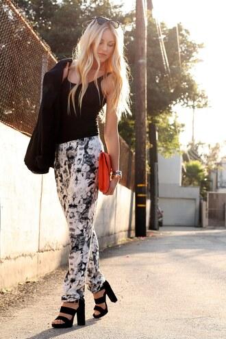 shoes bag sunglasses jacket pants cheyenne meets chanel