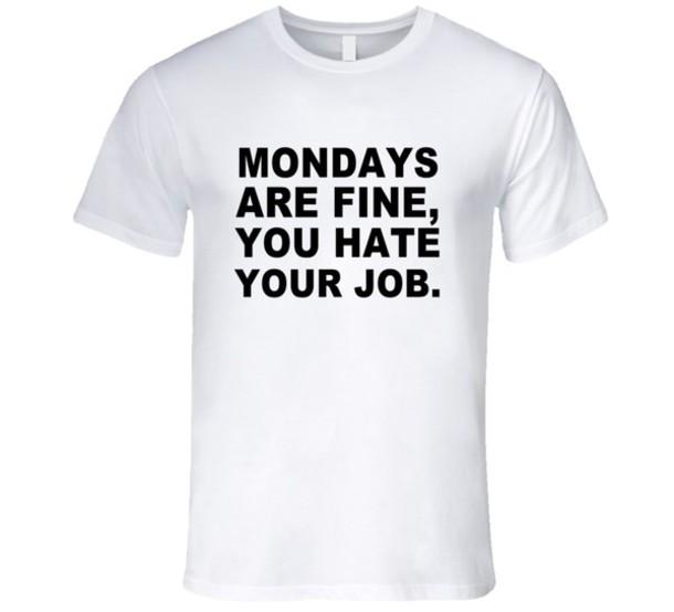 shirt t-shirt monday