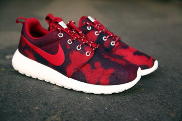 shoes nike sneakers nike shoes red