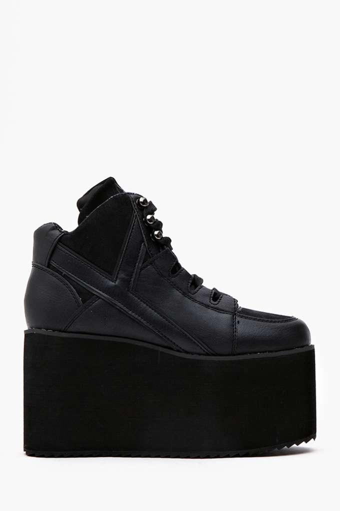 Alliance Platform Sneaker in  Shoes at Nasty Gal