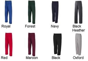 Jerzees New Mens Size s 3XL 4850MP Heavy Nu Blend Pocket Sweatpants Jumper 50 50   eBay