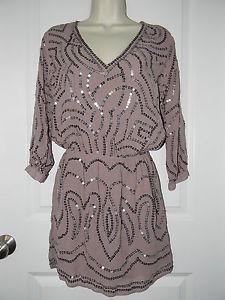 Victoria's Secret Sequin Blouson Dress s Small   eBay