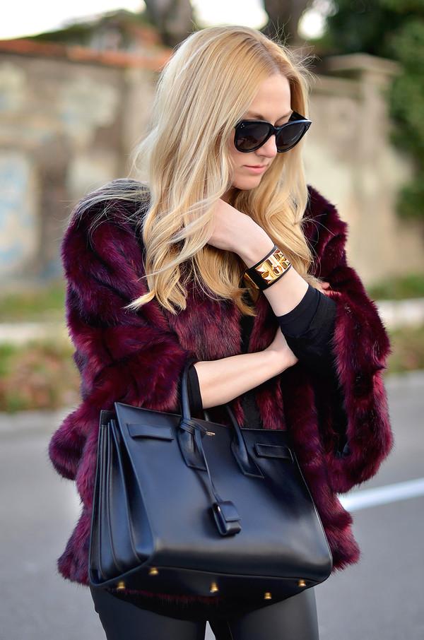 oh my vogue coat bag pants shoes jewels