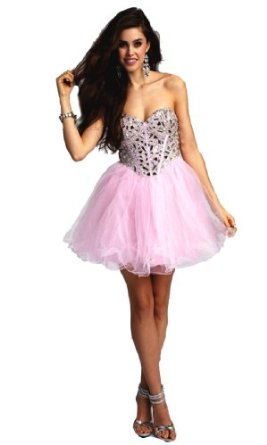 Amazon.com: Faironly Crystals Mini Short Cocktail Prom Dresses: Clothing