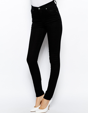 Cheap Monday   Cheap Monday Second Skin High Waist Skinny Jeans at ASOS