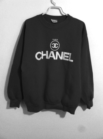 INDIE DESIGNS FAKE CHANEL PRINT HOODIE on The Hunt