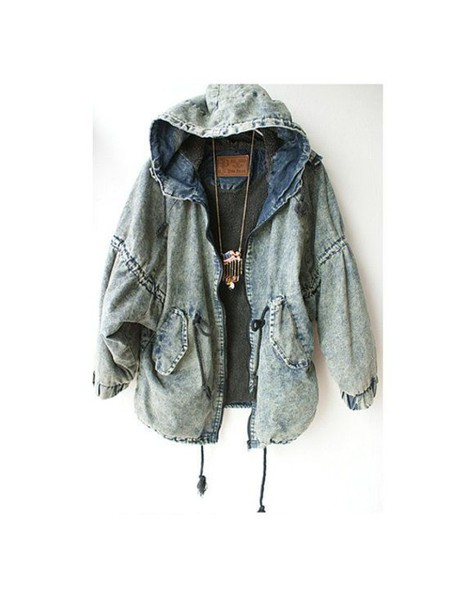 jacket jeans grunge rock teenagers teenagers soft grunge coat denim girl jeans denim jacket cool jacket denim jacket vintage coat acid wash bleached blue outerwear winter outfits fall outfits oversized hooded denim pullstrig hooded winter coat vintage jean jacket vintage