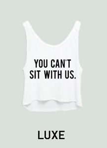 Cool You Can'T Sit with US Tank Top as Seen on One Direction 1D Bieber Awesome | eBay