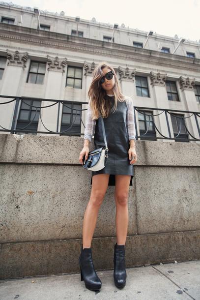 fashion toast sweater dress shoes bag sunglasses