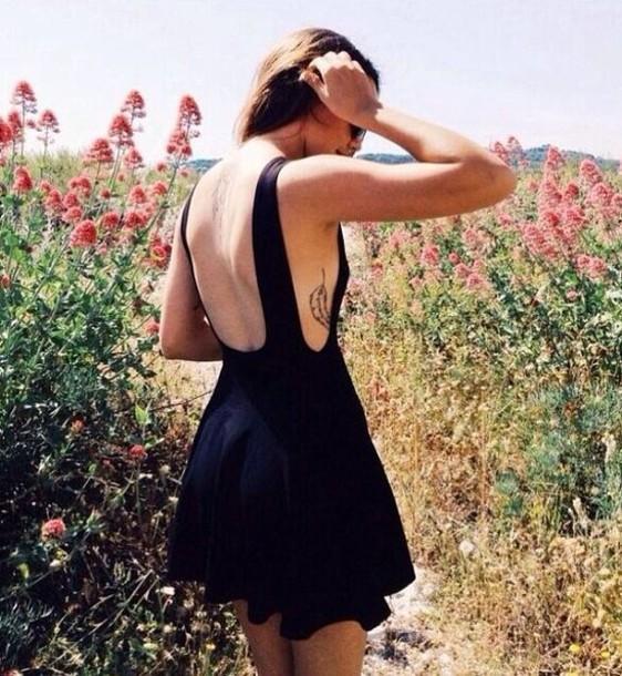 dress black dress dresses evening mini dress mini dress backless backless dress