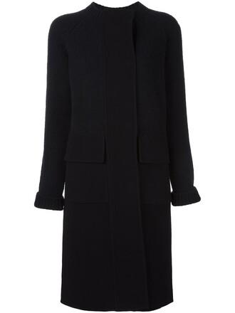 coat women blue wool